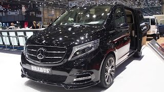 vuclip Brabus Mercedes Viano 3.5  Extra Long  -  Exterior and Interior Walkaround