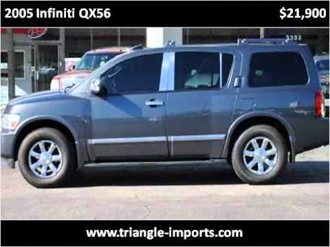 2005 Infiniti QX56 available from Triangle Imports