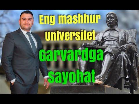 Garvard (Harvard)  Universitetiga Sayohat Qilamiz...