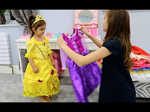 Emily Became a Princess- Disney Real Princess Dresses