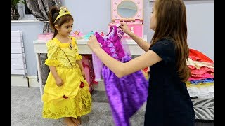 One of Emily Tube's most viewed videos: Emily Became a Princess-Real Princess Dresses