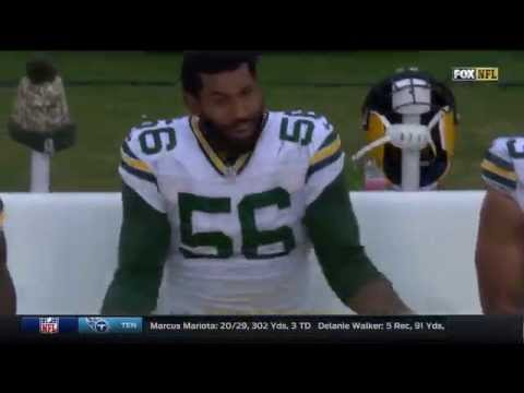 Peppers & Clinton-Dix Have Heated Discussion On Sidelines | Packers vs. Panthers | NFL