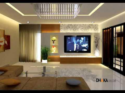 Fall Ceiling Wallpaper Dhaka Decor Living Room Interior Design In Dhaka
