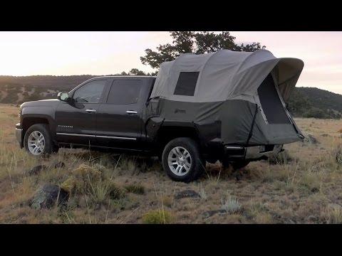 2015 Livin Lite Quicksilver Tc1 Soft Side Truck Tent