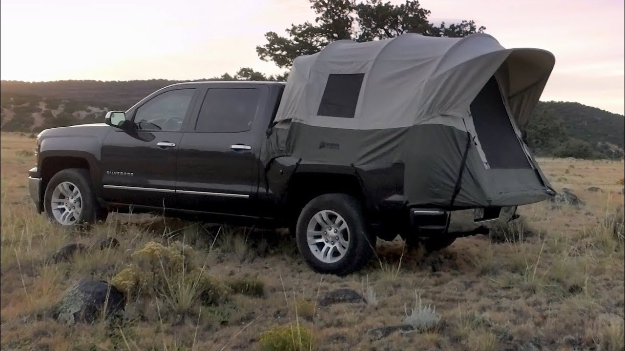 & Kodiak Canvas Truck Tent - YouTube
