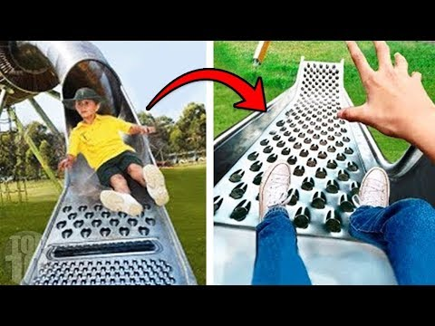 10 Kids Playgrounds That Are Totally Inappropriate