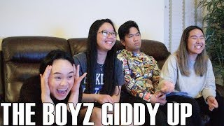 The Boyz (더보이즈) - Giddy Up (Reaction Video) - Stafaband