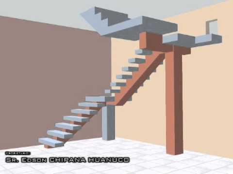 Diseño Interior Sala y Escalera Sr. Edson Chipana Huanuco