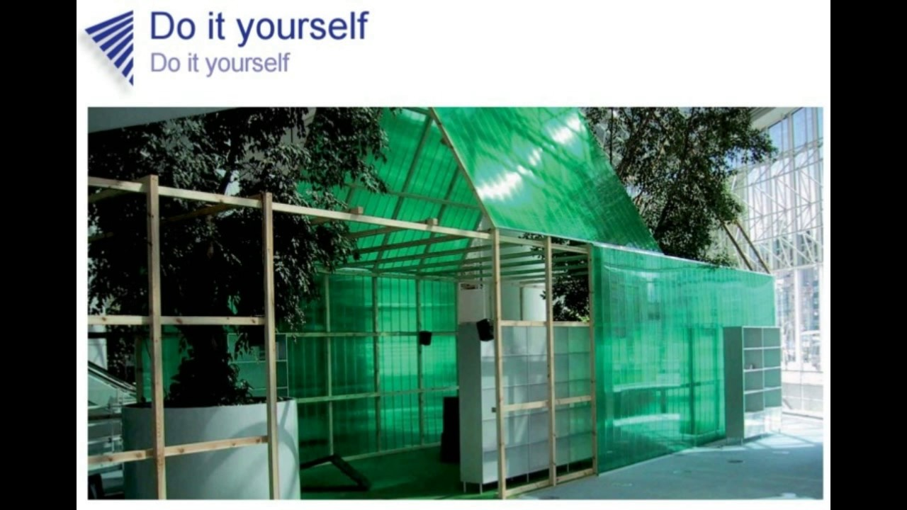 Diy divis rias e paredes com placas de policarbonato parte - Placa policarbonato transparente ...