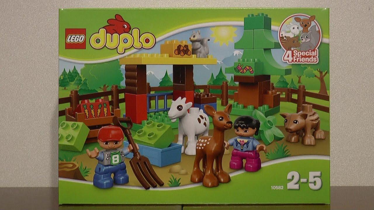 Lego Duplo 10582 Leśne Zwierzęta Youtube