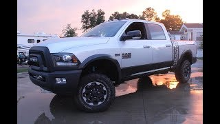 2017 RAM 2500 Power Wagon Start Up/ First Person In-Depth Review