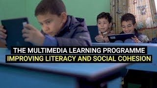 Multimedia learning promoting literacy and social cohesion