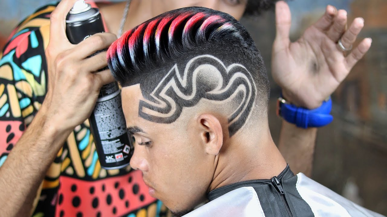 Download HAIR TRANFORMATION ✂️💈 fazendo corte dimil + freestyle 🇧🇷