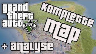 GTA V - Komplette Map (Offiziell) + Analyse