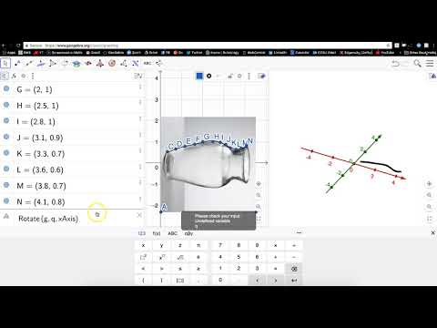 How to Create a Custom Surface of Revolution in GeoGebra