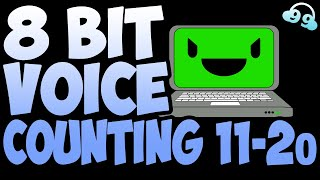 8 Bit Voice Counting 11-20 (FREE TO USE - FREE DOWNLOAD!)