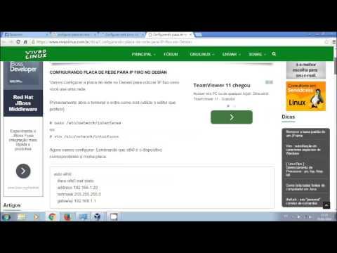 Configurando internet (Modo Bridge e Nat) no virtual box - Linux - Ubuntu