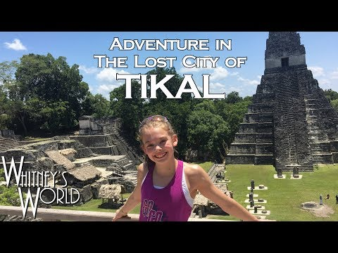 Pyramid Gymnastics | Whitney at Mayan Ruins | Whitney Bjerken