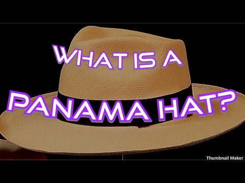 What Is A Panama Hat?  & what is a Monticristi Fino?