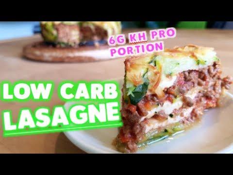 low carb lasagne leicht gemacht rezept n hrwerte youtube. Black Bedroom Furniture Sets. Home Design Ideas