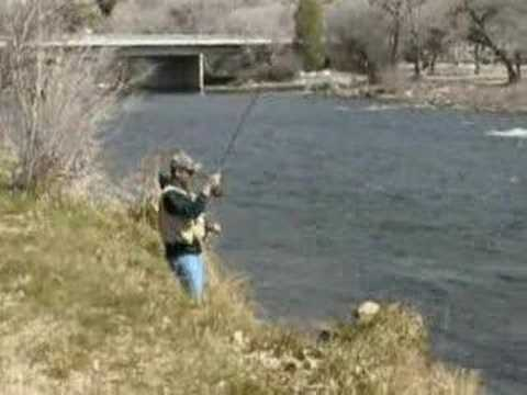 Trout fishing upper kern river youtube for Kern river fishing report