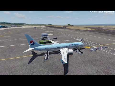 P3D v4 2 PMDG 737ngx Korean air 1822 Jeju to Ulsan on vatsim special