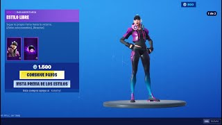 NEW FREESTYLE SKIN + MAJOR LAZER PACK + LADINA FORTNITE STORE AUGUST 24