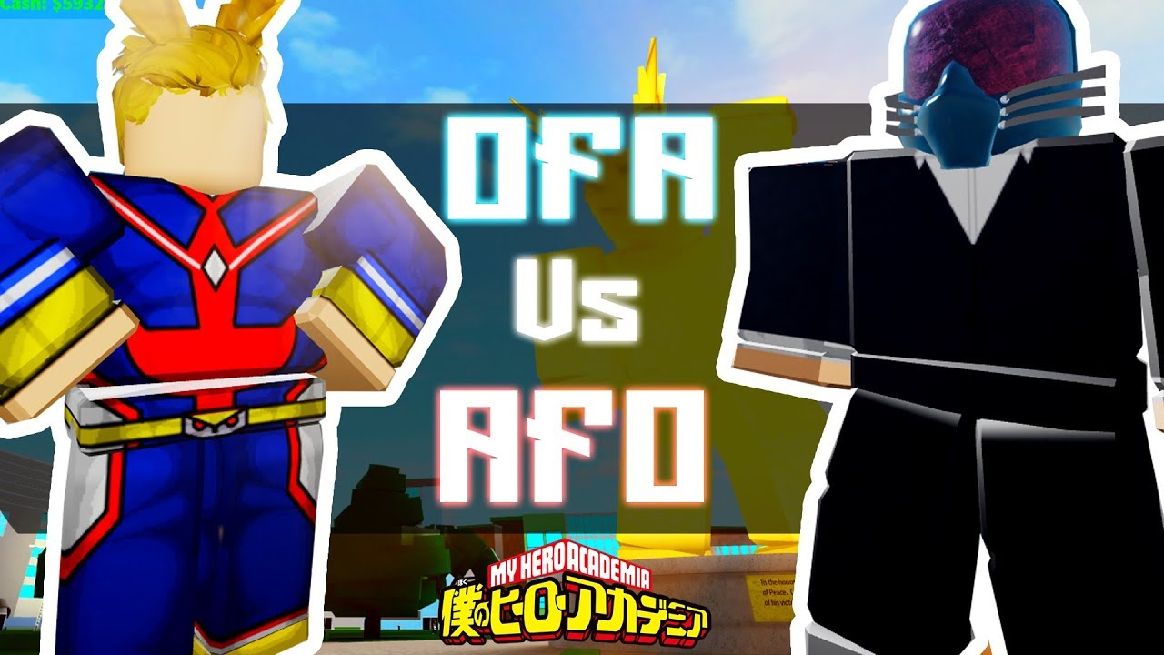 [Code] All For One Vs One For All | Boku No Roblox | Noclypso