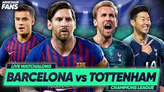 BARCELONA 1-1 TOTTENHAM | Spurs THROUGH To Last 16 After Camp Nou Draw | #ArmchairFans
