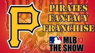 MLB 13 The Show- Pittsburgh Pirates FD Franchise- Draft (Ep.1)