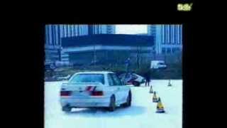 Видео урок экстремального вождения  Упражнение  поворот