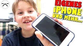 Eigenes iPhone 😍 Meine Weihnachts Geschenke 👦 Ash5ive