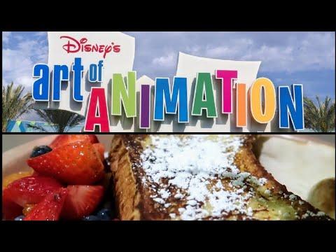 Breakfast At Disney's Art of Animation Resort