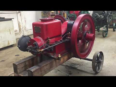 2 HP LAUSON BUMPSTART Antique Hit Miss Gasoline Engine