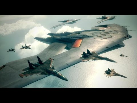 Ace Combat 6 | Mission 9 | Heavy Command Cruiser