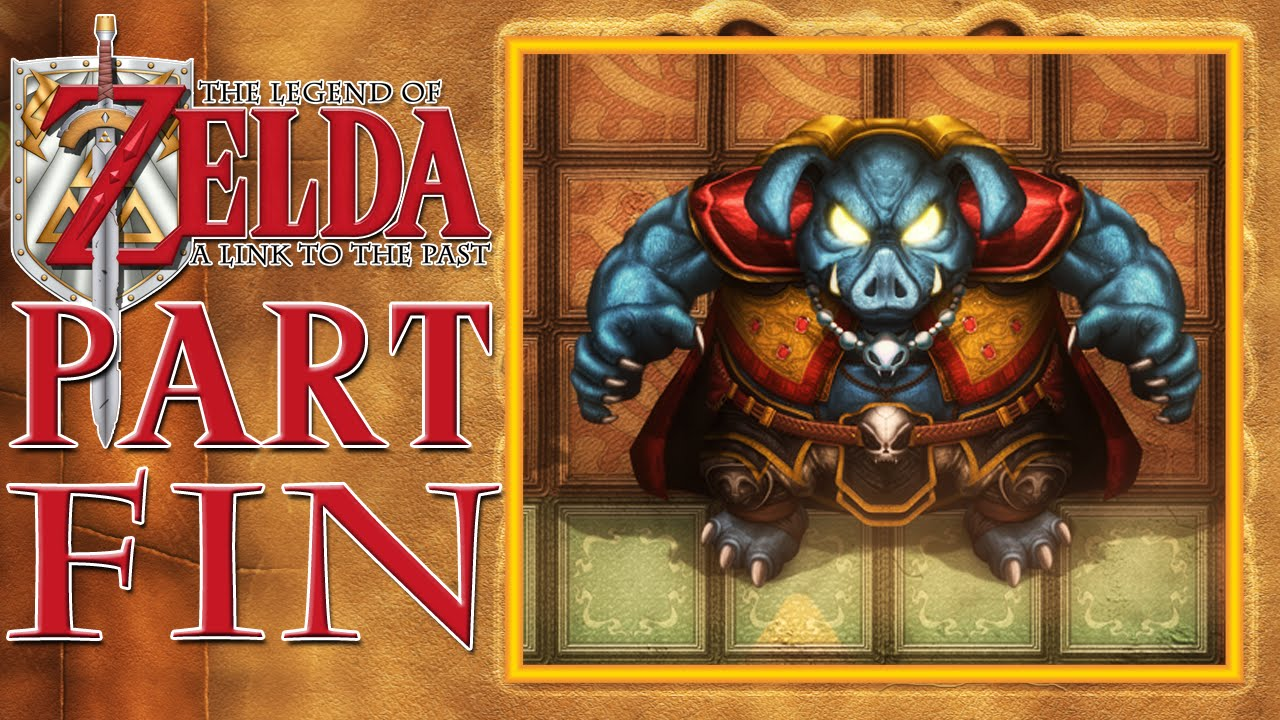 The Legend Of Zelda A Link To The Past Finale Ganon Fight