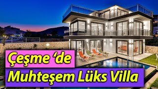 Çeşme'de Satılık Villa Tanıtım Filmi