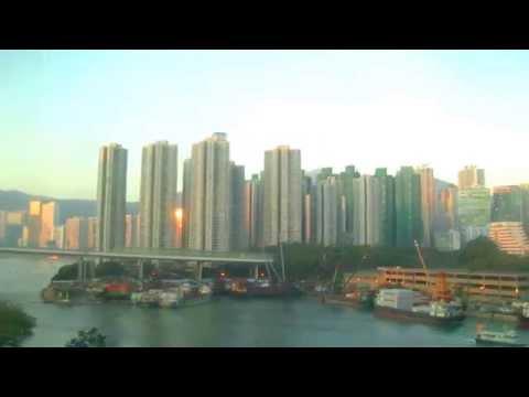 香港自由行---東涌線上看到的荃灣如心海景酒店-l'-hotel-nina