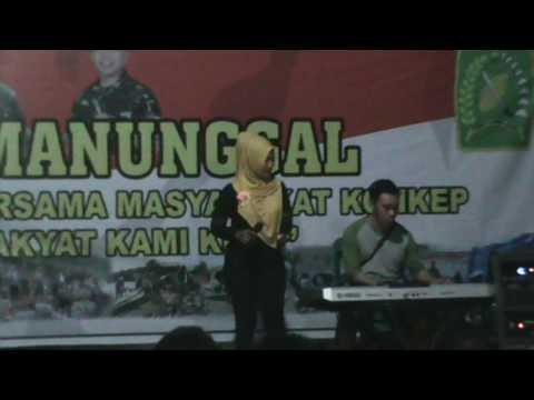 The Best Performance Ibu Persit Koramil 1417-01/Wawonii pada Malam Manunggal
