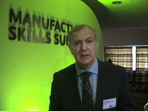 EEF CEO Terry Scuoler interviewed at the EEF north east manufacturing skills summit