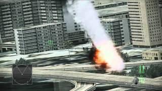Ace Combat Assault Horizon - Gameplay Fly-through