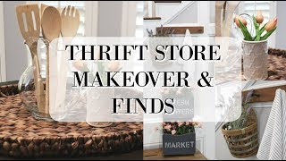 THRIFT STORE MAKEOVER | THRIFT STORE FINDS