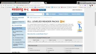 Reading A-Z for ELL
