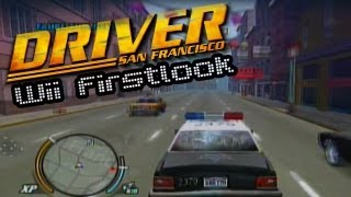 Driver San Francisco (Wii) - Firstlook Gameplay