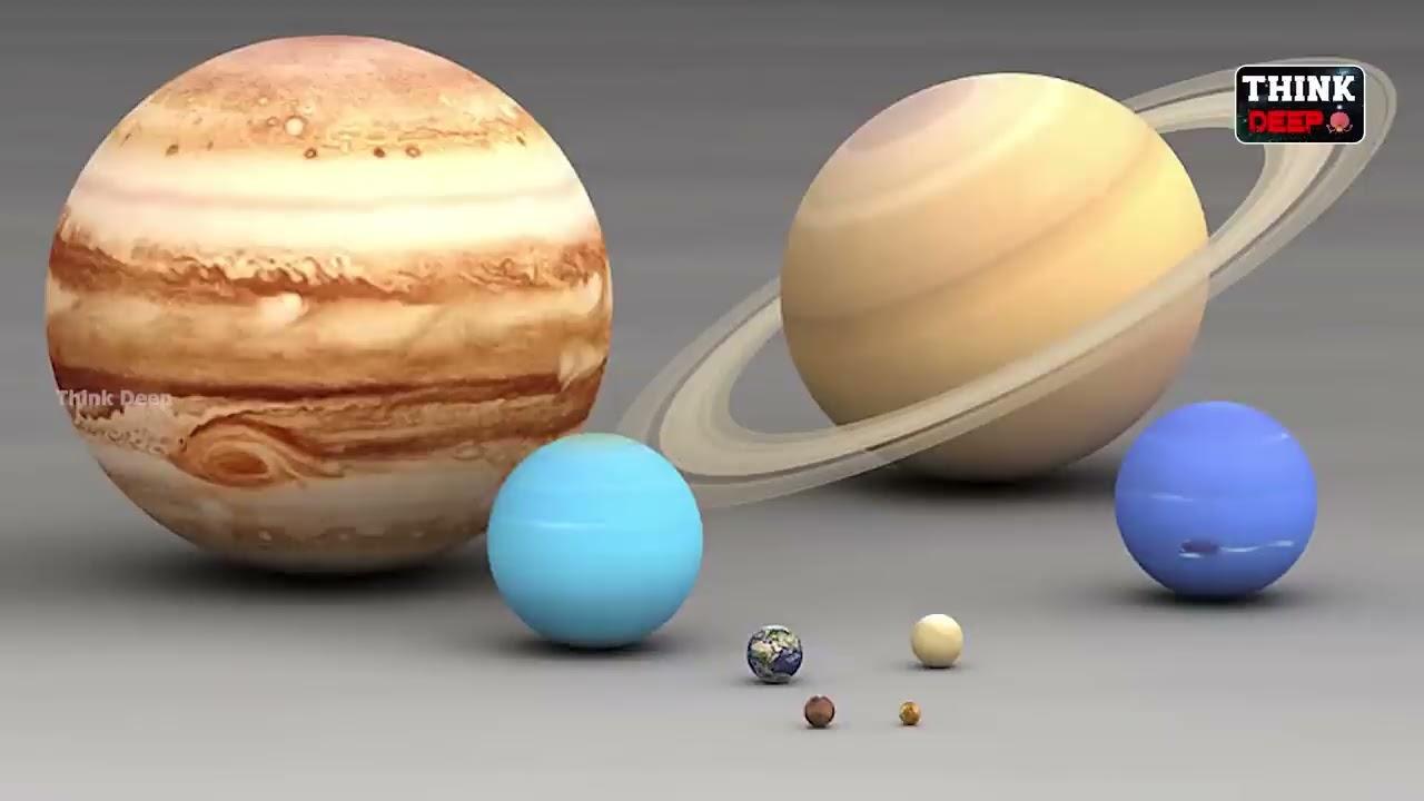 సౌర కుటుంబంలో ఉన్న గ్రహాల గురించి పూర్తి వివరాలు | Solar System Documentary in Telugu | Think Deep