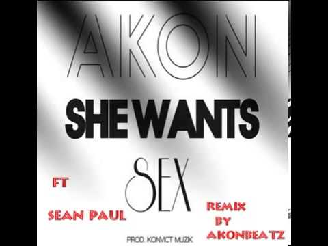Akon ft Sean Paul   She Wants Sex EXCLUSIVE AKONBEATZ REMIX 2013   YouTube
