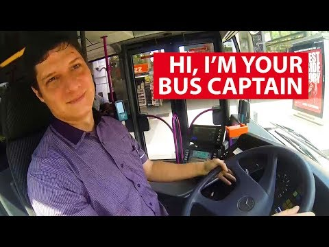 Hi, I'm Your Bus Captain | Talking Point | CNA Insider