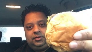 eating wendy s double stack 4 for 4 meal review   eating show