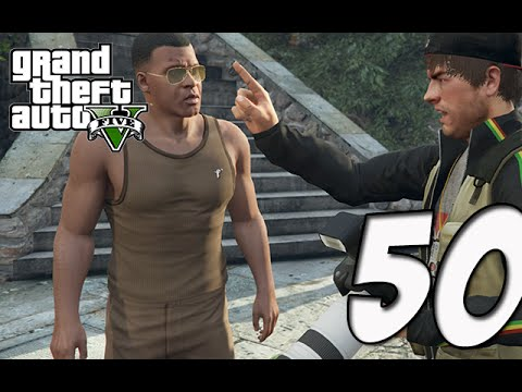Grand Theft Auto 5 Gameplay Walkthrough | Part 50 - FIGHTER JET!! SKY DIVING