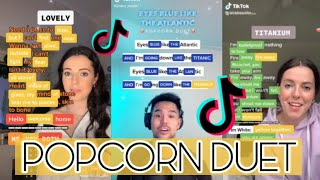 Popcorn Duets That You Can Try #2 - Tik Tok Compilation